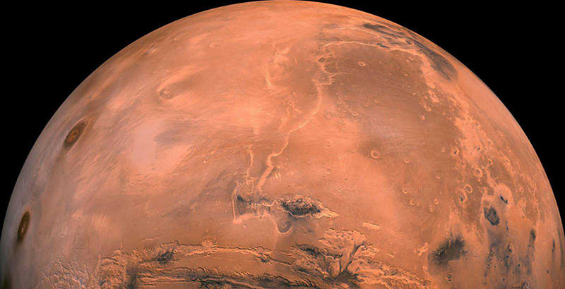 La NASA prueba el motor que llevará al hombre a Marte