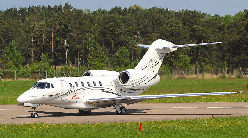 Los 5 aviones privados más rápidos del mundo