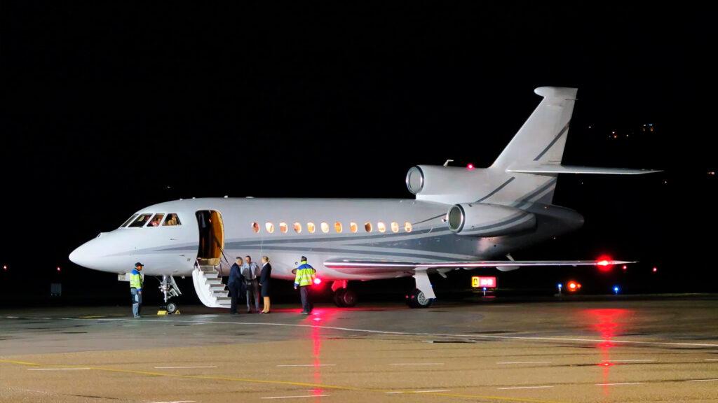 Jet Privado Dassault Falcon