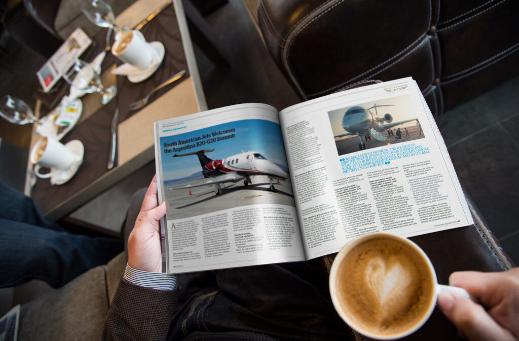 Revista G20 Y South American Jets
